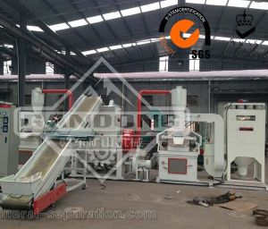 Electric Wire Crushing Copper Cable Recycle Machine pictures & photos