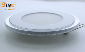 12W Glass LED Panel Lighting, LED Round Circle Lamp pictures & photos