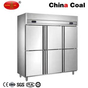 3 Doors Commercial Refrigerator Deep Freezer pictures & photos