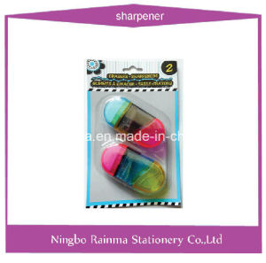 2 in 1 Sharpener and Eraser for School Stationery pictures & photos