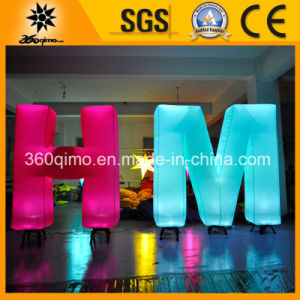 Beautiful Inflatable LED Lighting Letters H & M