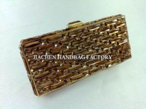 Ladies Evening Bags Exquisite Brown Evening Handbag