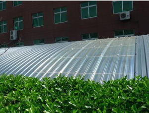 FRP Corrugated Roofing Sheet for Greenhouse, Fiberglass Sunlight Panel pictures & photos