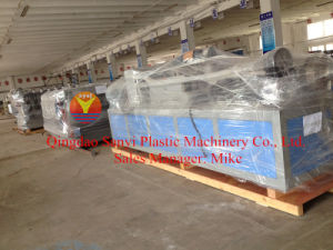 Plastic Machinery for Bathroom Board & Floor Board/PVC Foam Board Production Line pictures & photos