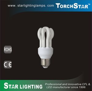 2700k 4100k 6500k 13W T2 CFL Lotus with 8000hrs Lifetime
