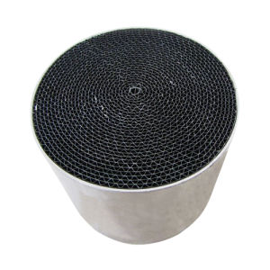 Euro V Catalytic Converter Round Honeycomb Metal Substrate Catalytic pictures & photos