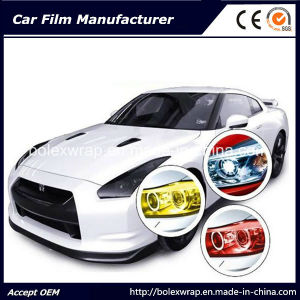 Car Light Color Changing Wrapping Headlight Tint Film pictures & photos
