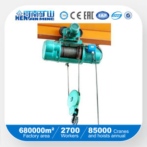 Hot Sale Wirerope Monorail Electric Hoist (CD), Electric Block pictures & photos