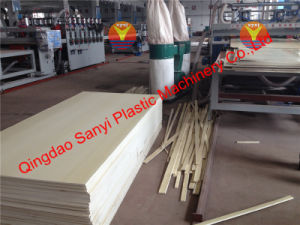 Wood Plastic Foam Board Production Line/WPC Machine pictures & photos