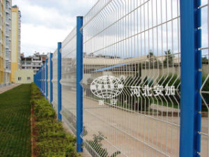 PVC Coated Welded Wire Mesh Palisade Garden Home Fence (Anjia-059) pictures & photos