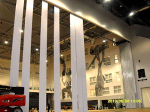 16m High Partition Wall for Gym pictures & photos