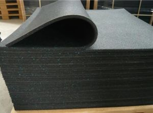 Rubber Floor Tile, Anti-Slip Floor Mat, Anti-Slip Rubber Flooring pictures & photos