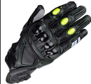 Pure Leather Gloves Racing Motorcycle Gloves pictures & photos