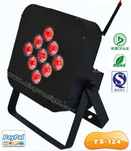 Battery Operated Wireless RGBW 4in1 LED PAR Light pictures & photos