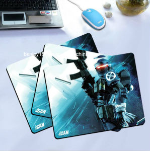 Non Slip Rubber Soft Cloth Surface Gaming Mouse Pad pictures & photos