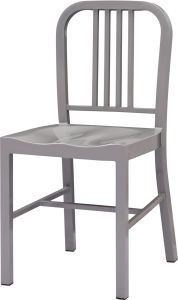 Commercial Gray Plating Metal Restaurant Chair (FOH-BCC15) pictures & photos