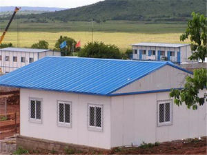 Energy Saving, Easy Installation Prefab Pit Stop House for Highway Station pictures & photos