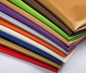 Premium Soft PU Leather Fabric pictures & photos