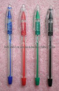 Plastic Gel Pen with Transparent Body (LT-C383) pictures & photos