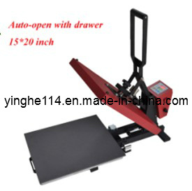 Semi-Auto Open with Drawer Heat Press Machine pictures & photos