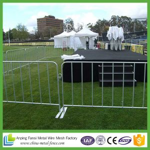 Hot Dipped Galvanized Used Concert Metal Crowd Control Barrier pictures & photos