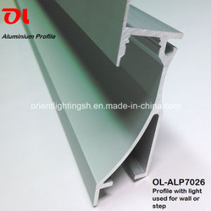 Aluminum Profile with LED Strip for Wall Corner (ALP7026) pictures & photos