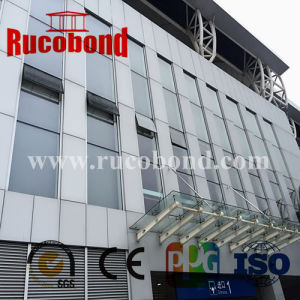 Rucobond Aluminum Composite Panel Construction Material ACP Acm From Guangzhou pictures & photos
