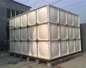 Hot Sale GRP FRP SMC Sectional Water Storage Tank for Firefighting and Drinking Water pictures & photos