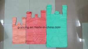 Color PE Plastic T-Shirt Bag pictures & photos
