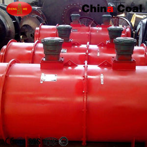 Underground Mining Explosion Proof Exhaust Axial Flow Ventilation Fan pictures & photos