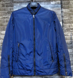 Navy Zipper Lighweight Windproof Waterproof Man Jacket From China Supplier pictures & photos