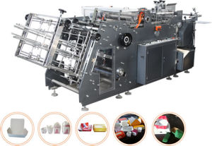 Automatic Fast Food and Snack Box Making Machine pictures & photos