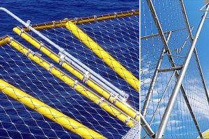 Stainless Steel Cable Mesh for Fall Protection pictures & photos