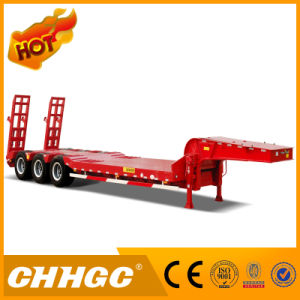 High Strength Steel Low Bed Semi Trailer pictures & photos