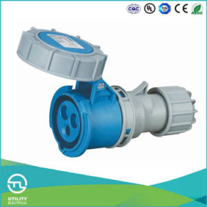 Utl Uz-552 Waterproof Plug Industrial Socket Plastic Connectors 3pins pictures & photos