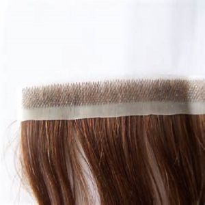 European Virgin Remy Pre-Taped PU Skin Weft Human Hair Extension pictures & photos