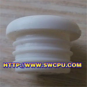 Cheap PP White Plastic Plug with Screw for Pipe & Pipe pictures & photos