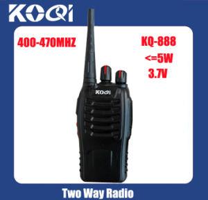 UHF 400-470MHz Handheld 2 Way Radio pictures & photos