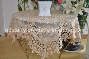 Lace Voile Table Cloth pictures & photos