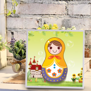 Factory Direct Wholesale New Children DIY Handcraft Sticker Promotion Kids Girl Boy Gift T-174 pictures & photos