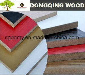 18mm 21mm Black Melamine Laminated MDF Board (4FT*8FT) pictures & photos