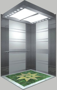 Good Quality Passenger Elevator with Hairline Stainless Steel pictures & photos