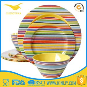 Cheap Melamine Plastic Bowl Plates Sets Dishware Dinnerware Tableware pictures & photos