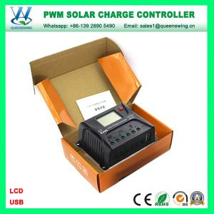 20A 12/24V Auto Intelligent LCD Solar Panel Charge Controller (QWP-SR-HP2420A) pictures & photos