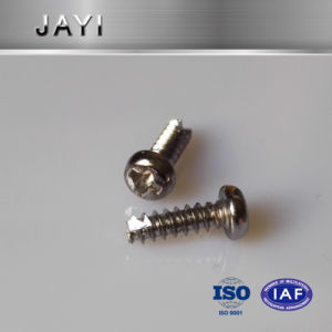 Pan Head Cross Drives Self Tapping Screw, Self Drilling Screw, Thread Cutting Screws pictures & photos