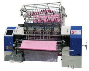 High-End Shuttle Quilting Machine, Lock Stitch Multi Needle Quilting Machine for Garment pictures & photos
