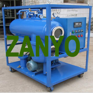 Single-Stage Pump Vacuum Transformer Oil Purifier pictures & photos