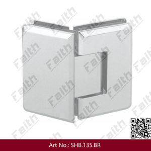 135 Degree Excellent Quality Frameless Shower Glass Door Hinge (SHB. 135. BR) pictures & photos