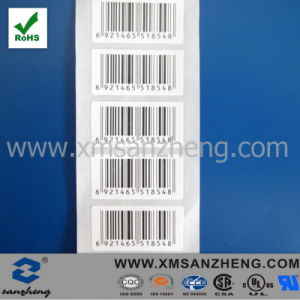 Clear Barcode Self Adhesive Scratch Resistant Ral Solid Coated Printer Labels pictures & photos