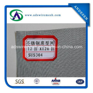 SUS304 12meshx120mesh Dutch Wire Mesh, Stainless Steel Wire Mesh pictures & photos